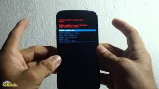 Como formatar e resetar o LG Nexus 4 E960 configurações originais