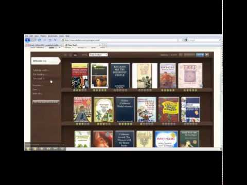 How to add books to your shelfari virtual bookshelf.