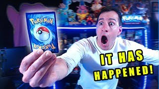 *FINALLY!* I Pulled One of the RAREST HYPER RARE POKEMON CARDS While Opening ALL Booster Packs!