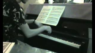 Piano my improvisation N.#5 (Lullaby of the night)