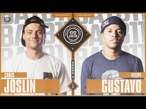 BATB 11 | Chris Joslin vs. Felipe Gustavo - Round 3
