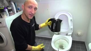 Afkalkning af toilet