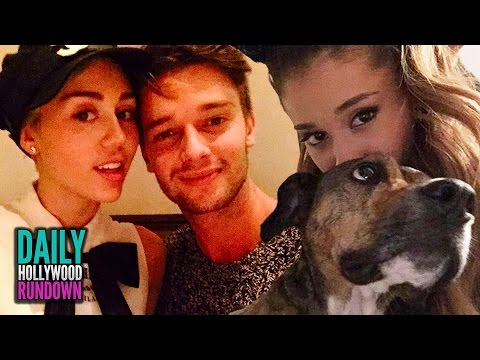 Miley Cyrus & Patrick Schwarzenegger Relationship Troubles - Ariana Grande Gives Away PUPPIES (DHR)