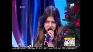 "LIVE! Vanessa Marzavan - Christina Aguilera - ""Oh mother"" - Acces Direct"