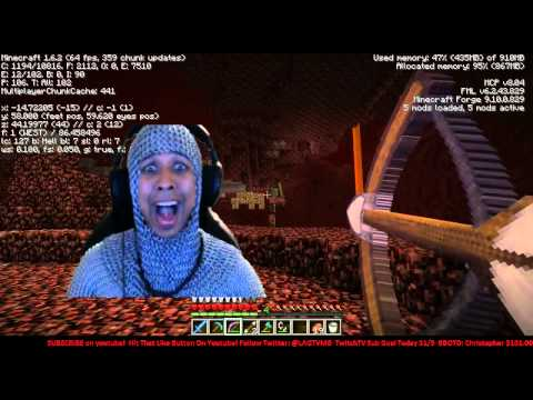 *mindcrack Audition* Singing Master Exploder In The Nether - Maximusblack video
