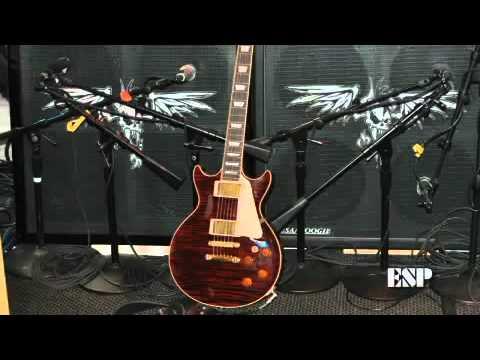 Kirk Hammett Exclusive ESP Guitars Interview.