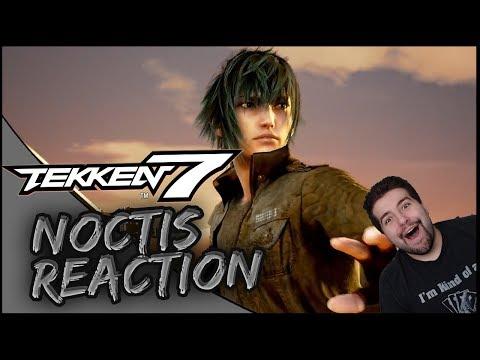 WTF NOCTIS IN TEKKEN!? | Tekken 7 Noctis Character Reveal Trailer Reaction!