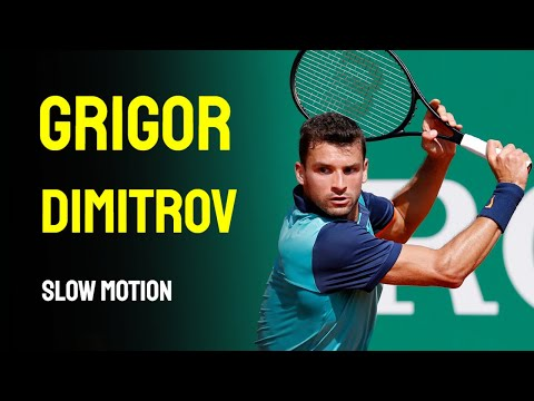 Grigor Dimitrov - Slow Motion - 2014 Cincinnati Masters 1000