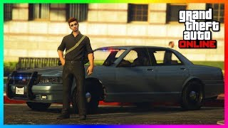 GTA Online - How To Get Undercover Cop Cars & RARE Police Vehicles! (Best 2018 Methods)