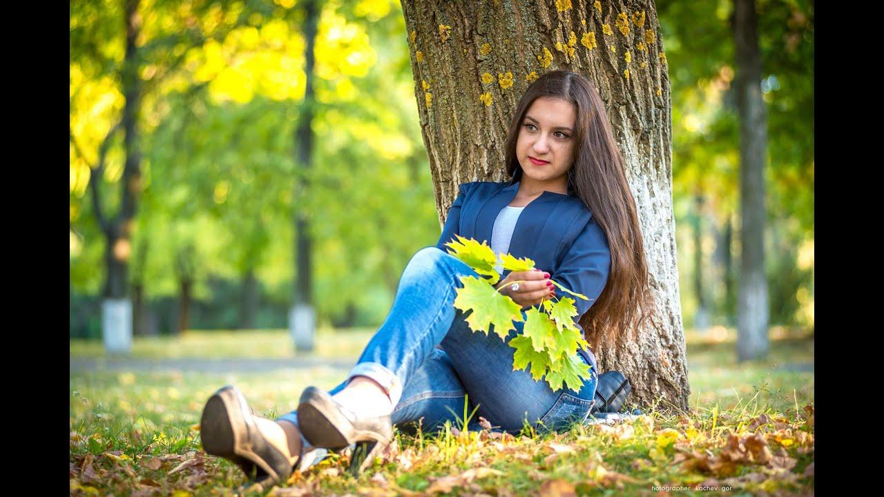 Фото девушек в парке идеи