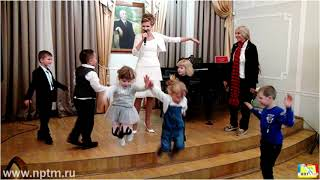 Новые детские песни музыка 2020. Премьера. Открытие международной детской выставки Мир глазами детей
