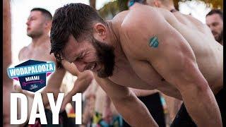 WODAPALOOZA DAY 1 - Competition Vlog
