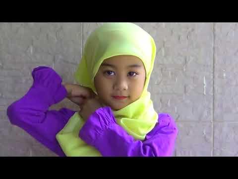 Tutorial Hijab Simple Buat Anak Anak
