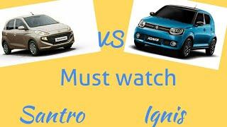 Maruti Suzuki ignis VS Hyundai santro