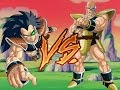 Raditz(1 Year Training) VS Nappa