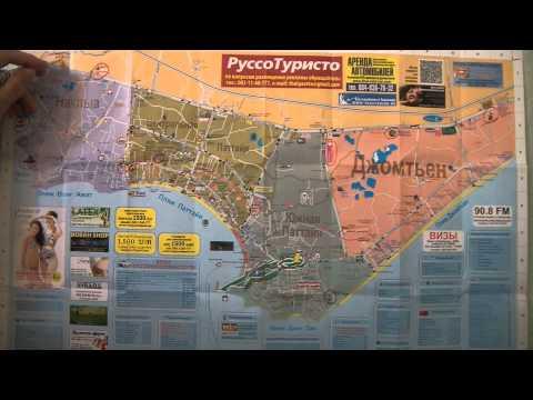 Подробная Карта Паттайи на Русском Языке