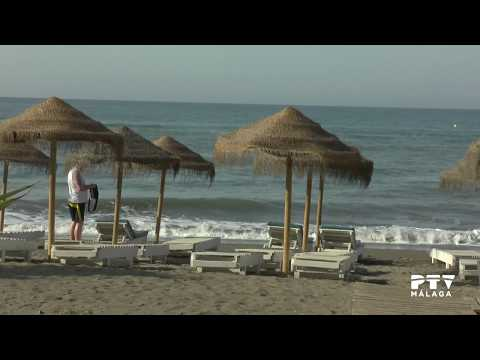 Mar de Alborán: Playas del Rincón de la Victoria. 25/07/2017