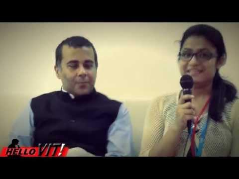 Chetan Bhagat in VIT(interview) /graVITas'14/hello VIT