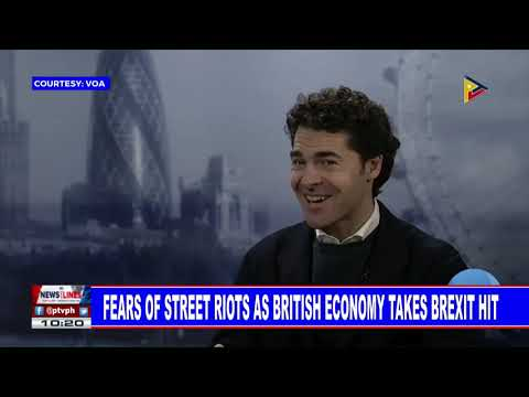 GLOBAL NEWS: Fears of street riots as British economy takes Brexit hit