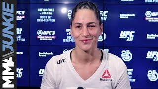 UFC 231: Jessica Eye full post-fight interview