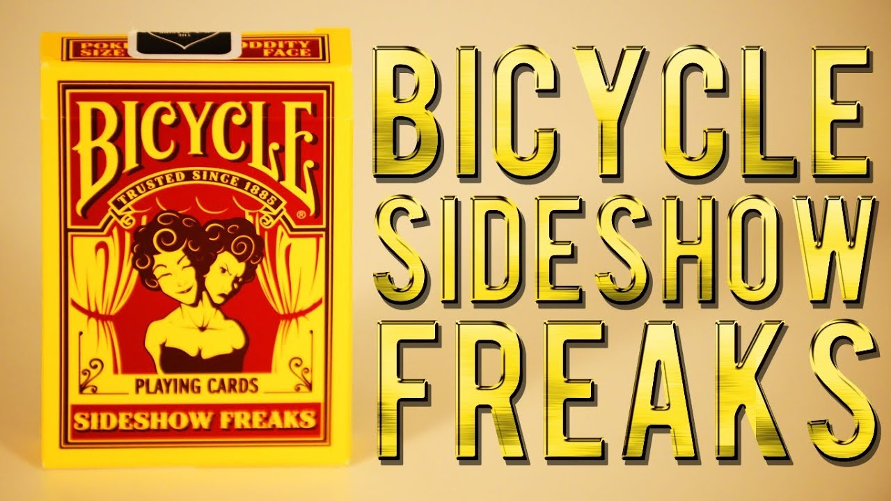 Bicycle Tsunami Deck Deck Review Bicycle Sideshow