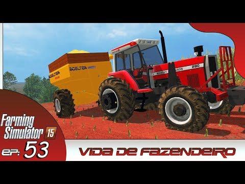 COMPREI UMA NOVA BAZUKA MUITO TOP!   FARMING SIMULATOR 2015 #53   PT-BR  