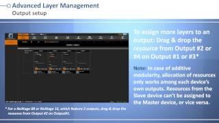 LiveCore™ series Web RCS: Advanced Layer Management