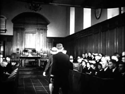 Film of Navy Chaplain's School, 1943-1945