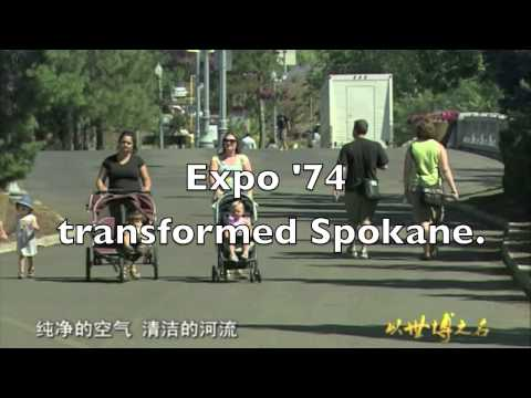 Expos at Shanghai and Spokane