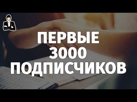 Как набрать 3000 подписчиков на YouTube | Как сделать url адрес канала на YouTube. Аналитика