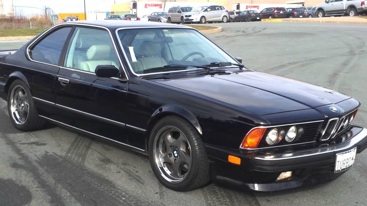 Bmw m6 E24 Tuning 1987 Bmw E24 Dinan Turbo m6