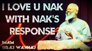 """I Love You Nouman Ali Khan"" ᴴᴰ – FUNNY – Imam Siraj Wahhaj with NAK's Response"