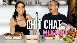 Chit Chat MUKBANG feat. CHRIS KLEMENS!