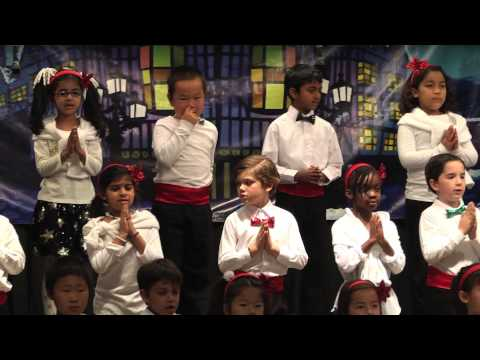 2013 Mission Bay Montessori Academy Christmas Show: Highlights