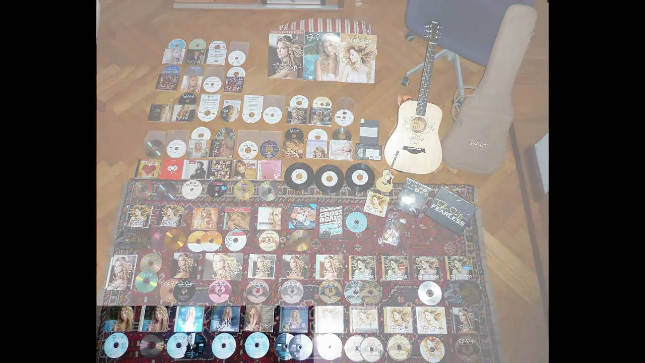 My Taylor Swift Music Collection World Largest Taylor S