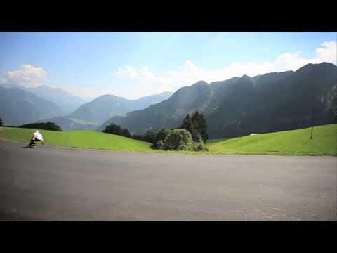 Justin Readings: Speedboarding - Rayne Avenger, Europe 2012