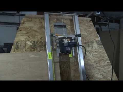 Sliding Tablesaw Homemade : DIY Sliding Table Panel Saw  How To Save Money And Do It Yourself!