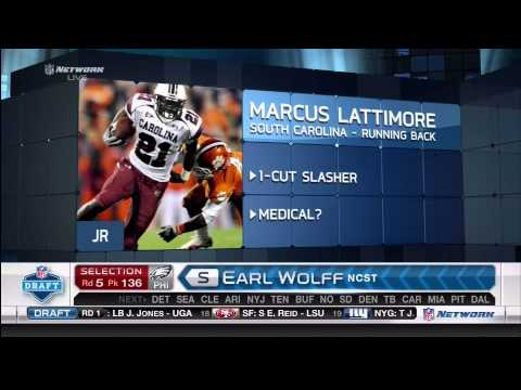 San Francisco 49ers Draft 2013 - Part 2 - Rounds 4-7