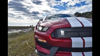 Hi-Po Drive Review - 2017 SHELBY GT350 Ford Mustang 0-60 Launches & Drone Cameras