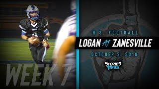HS Football | Logan at Zanesville [10/5/18]