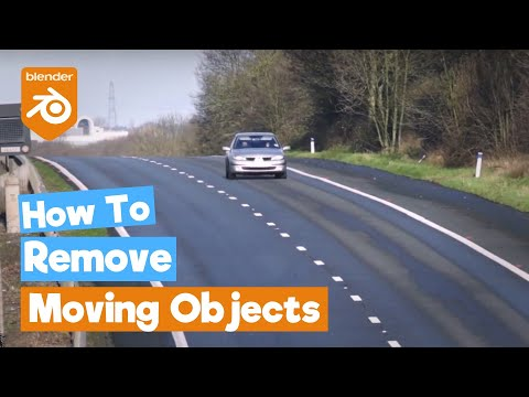 Blender Tutorial: How to Remove Traffic from Videos