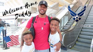 Military Homecoming   Air Force Homecoming   Military Family Vlogs   Air Force Family