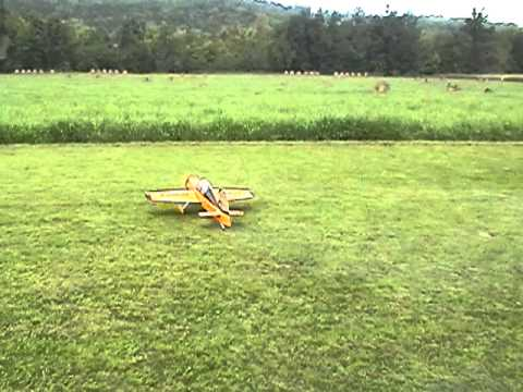 FLYING MY  SEAGULL MODELS  YAK 54 RC AIRPLANE