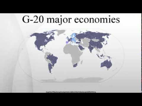 G-20 major economies