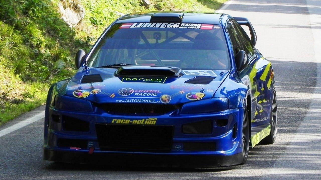 Mike Jelinek' 700hp Subaru Impreza E1 - Alpe del Nevegal ...
