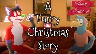 A Furry Christmas Story [Animation] (w/ Adler The Eagle)