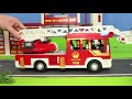 Fire Truck, Excavator, Train, Police Cars, Garbage Trucks & Tractor Kids Construction Toy Vehicles