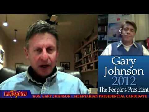 'Gay Marriage' vs 'Civil Unions' - Gary Johnson & GOProud Web Q&A - December ...