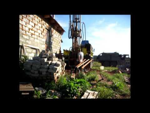 Бурение скважины на воду//Drilling of the well on water
