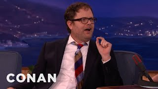 Rainn Wilson Hates Hipster Foodies  - CONAN on TBS